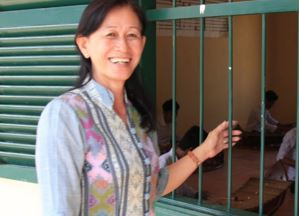 A Cambodian woman's quest for children's equal access to education