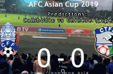 AFC Asian Cup 2019 qualifiers: Cambodia Vs Chinese Taipei preview